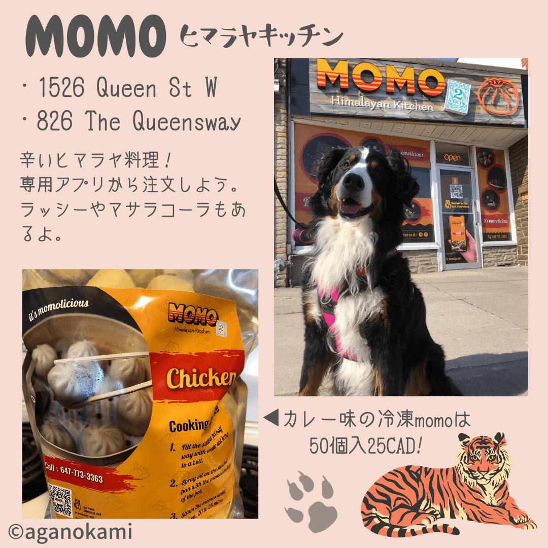 MOMO2go ヒマラヤキッチンの説明